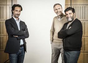 Les producteurs, Edouard Weil, ChristopheRossignon et Alain Atal