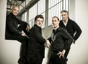 Bernard Cabannes, Luc Delamain, Maxime Barbier et François Gill